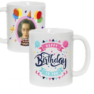 Taza Happy Birthday to you y nombre
